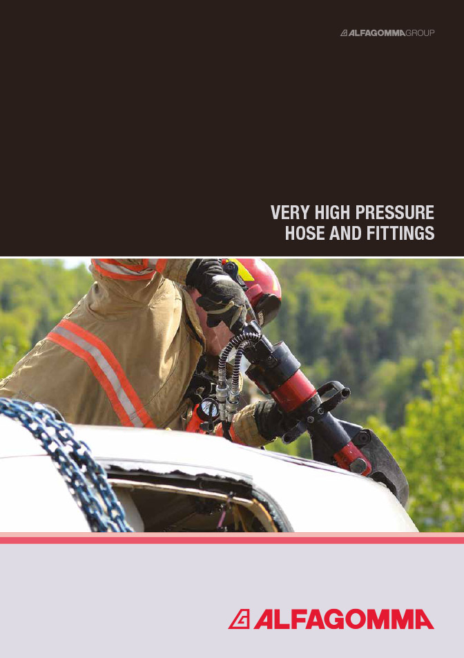 Very High Pressure hose and fittings
