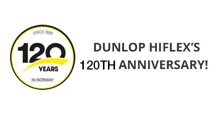 Dunlop Hiflex's 120th Anniversary!