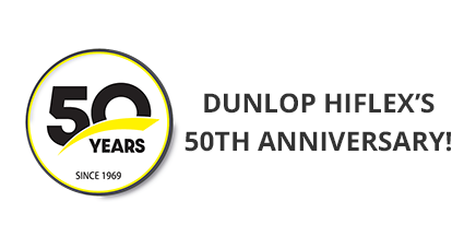 Dunlop Hiflex's 50th Anniversary!