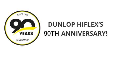 Dunlop Hiflex's 90th Anniversary!