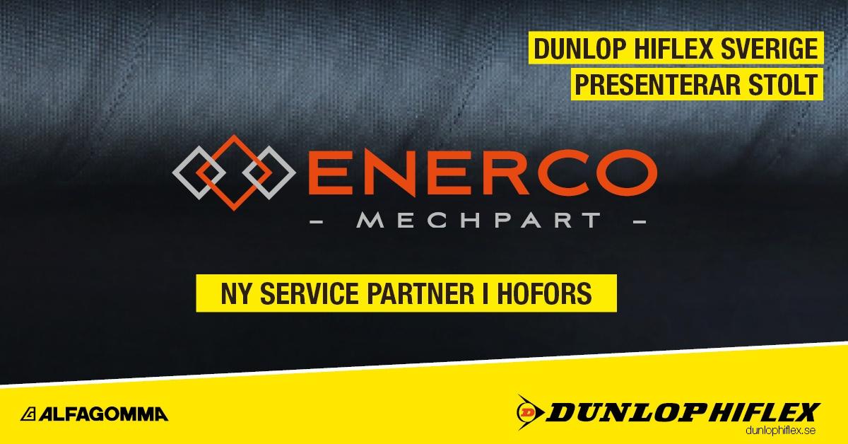 Enerco Mechpart - Dunlop HIflex Service Partner i Hofors