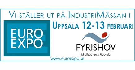 Medverkan på Euroexpo Uppsala