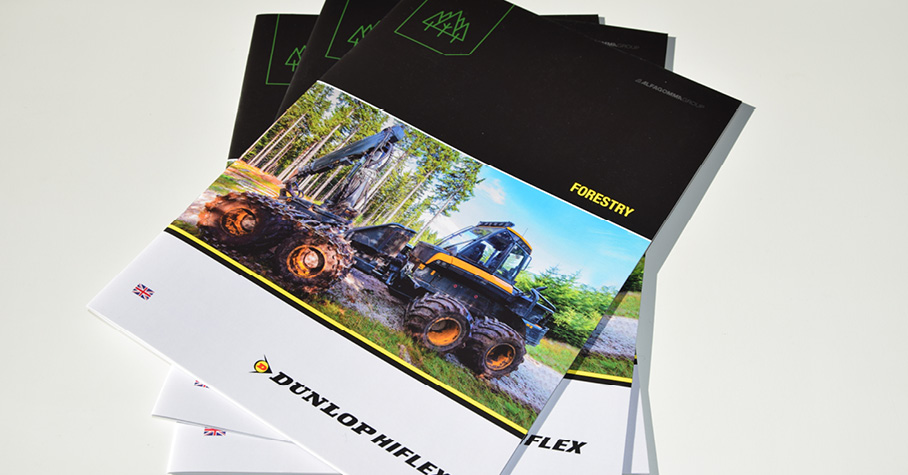 NEW Dunlop Hiflex Forestry Industry catalogue